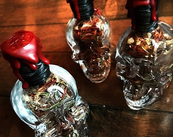 The Mighty Dead Reliquaries - Witch Bottle - Spell Bottle - Witches Bottle