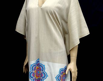 Women's super soft and light weight Turkish cotton poncho, beach poncho, summer cotton poncho.