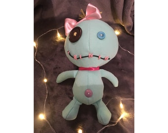 Handmade Lilo and Stitch Scrump plush soft toy