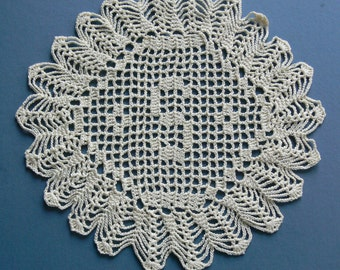 "Custom Crocheted Initial Doilies ""S"""