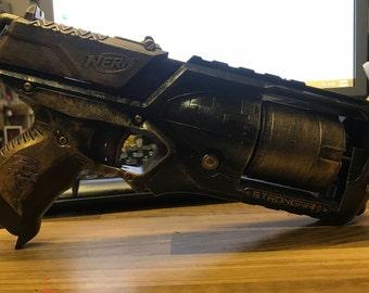Steampunk Inspired Nerf Gun