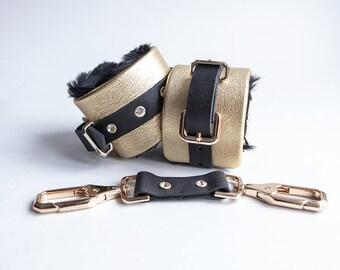 Golden Kittin' Handcuffs