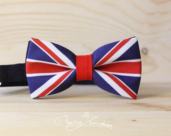 Flag of the Great Britain Bow tie - Bowtie