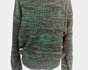 90's Marled Pullover Sweater