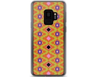 Kilim 04 Plaid Diamond Square Grid Bold Colors Colorful Samsung Cellphone Phone Case