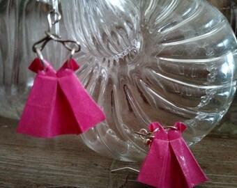 Pink mini on hangers (MRO_001) origami