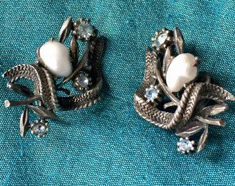 Coro Earrings Mid Century 1940s-60s
