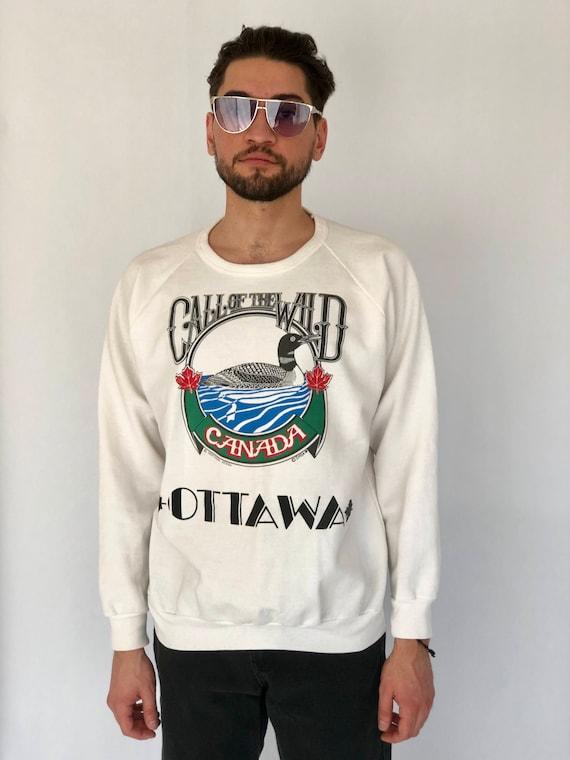 "80s Pullover ""Call of the Wild"" Ottawa"