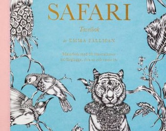 Safari - 20 posters to color and frame