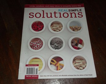 Real Simple Solutions - Tricks Wisdom & Easy Ideas To Simplify Every Day Book Softbound