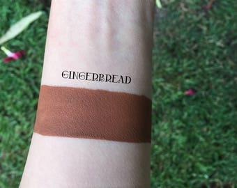 Gingerbread Liquid Lipstick