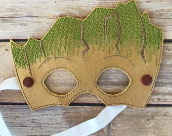 Baby Tree mask inspired by Groot. Premium quality. Guardians of the galaxy