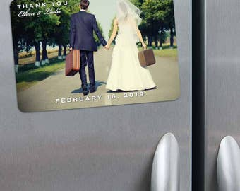 Wedding Cheer - Magnet - Save the Date + Envelopes