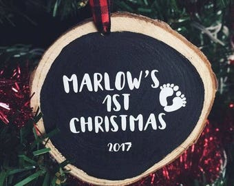 Personalized Baby's 1st Christmas