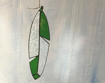 Feather Suncatcher