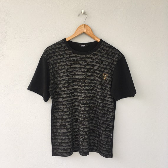 Large adult Gabbana amp;G shirt and Man t X product Rare size Dolce D clothing Italia qAawqUP