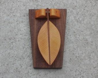 Carved Leaf Door Knocker