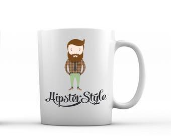 Printed mug Boho Gift Hipster mug Hipster style Hipster gift Coffee mug personalised mug custom mug