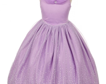 Off-Shoulder Sleeves and Rhinestones Decorated Dress