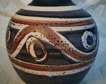 Vintage Oregon Pottery, Bennett Welsh, Pacific Stoneware