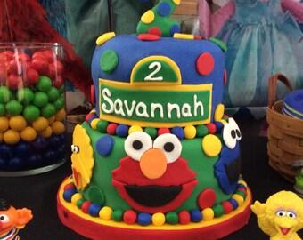 Elmo Edible Cake TopperElmo Frosting Sheet Sesame Street