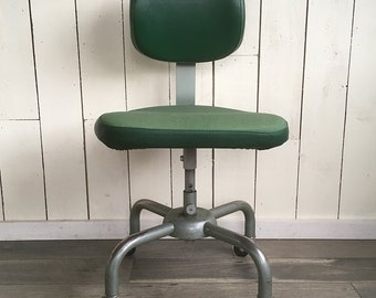 Mid Century All-Steel Equipment Inc Office Chair, Steno  Chair, Tanker Chair - Heavy-Duty USA Made Heavy-Duty Industrial Chair