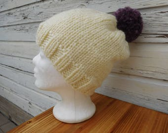 Beanie * Knitted hat * Wool cap * Hand knitted * Sale!