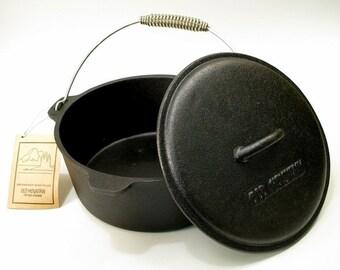 Old Mountain Cast Iron Pre-Seasoned Pot