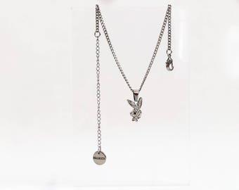 The Dainty PlayBoy Bunny Choker/Necklace
