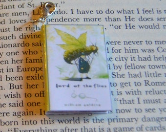 The Lord of The Flies - Zipper Charm - Purse Charm - Keychain - Free Shipping