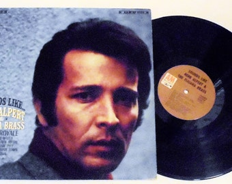 Sounds Like...Herb Alpert and The Tijuana Brass Vinyl Record Album (1967, A&M) Latin Jazz Big Band Swing Vintage LP