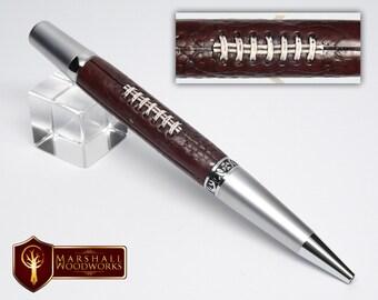 Football Pen - Handmade Pen - Sports Fan - Gift for him - sports pen - hand made pen - Custom pen - pens