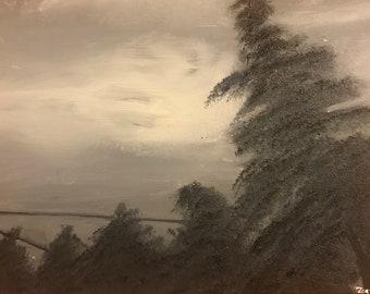 Painting: Dark Forest