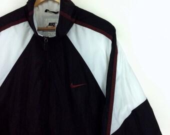 Nike jacke rot schwarz