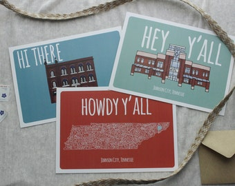Johnson City Postcards