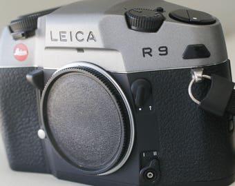 Leica R9 Silver Chrome 35mm camera body