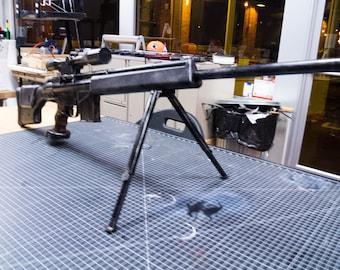 PSG-1 Metal Gear Sniper Rifle (Metal Gear, MGSV, Winter Soldier, Sniper, Movie Prop,)