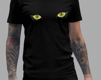 Yellow Eyes Demon - Lucifer Shirt #R
