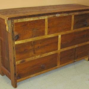 Barnwood Dresser   Reclaimed Wood Dresser