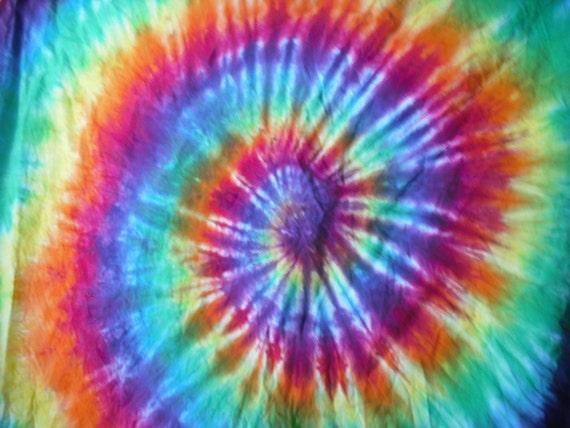Tie Dye Kona Cotton Fabric Full Yard From