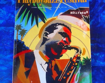 1995 17th Annual Playboy Jazz Festival Program // Jazz Collectibles // Hollywood Bowl