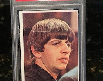 "1964 Beatles Color - Ringo Starr - ""Ringo Spreaking""  Graded Authenticated Encased - Mint Psa 9 oc"