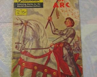 Classics illustrated joan of arc #78 good 1950
