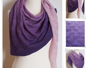 Illuminati shawl* knitting shawl pattern
