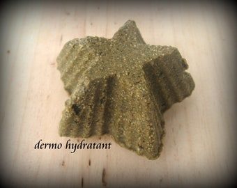 Natural solid shampoo, scalp and dry hair, the DERMO HYDRATANT, 45-65gr