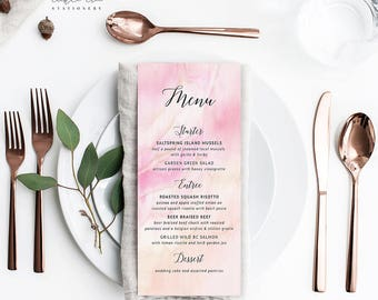 Once Upon A Time - Menu Cards (Style 13671)