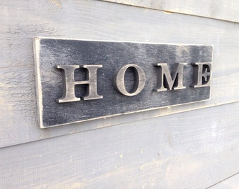 Home Sign, Wooden Home Sign, Wall Decor, Sign For Home