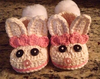 Bunny Slippers for Girls