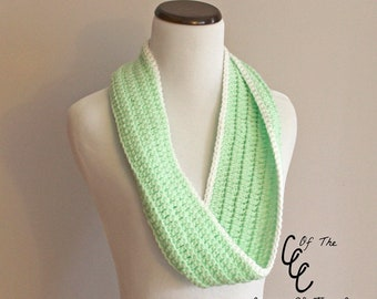 Front Loop Cowl | Crochet Pattern | Infinity Scarf Crochet Pattern | Crochet Infinity Scarf Pattern | Loop Cowl Pattern | PDF Pattern