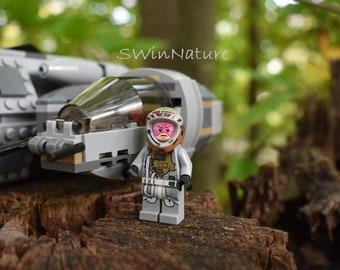 LEGO Pilot Star Wars-Photograph-Canvas-wall art-Star Wars-photography-nature-kids room-Lego art-Lego gifts-room decor-Lego artwork